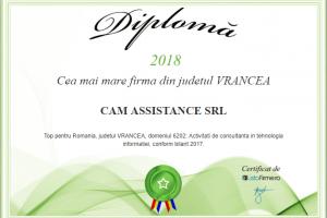 Cam Assistance - cea mai mare firma din judetul Vrancea-2018